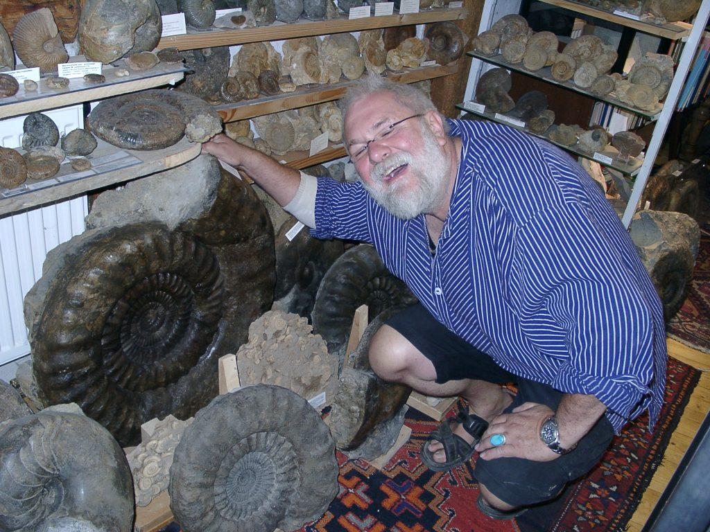 Ede mit Ammoniten